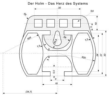 Zölzer Standardholm - 171cm bis 200cm Sperrgut